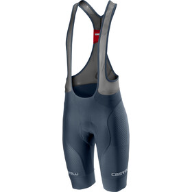 Castelli Free Aero Race 4 Team Bib Shorts Herren dark/steel blue